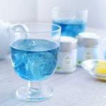 アジアの神秘でティータイム「美人の青いお茶」